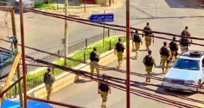 دوريات للجيش في بشري للتأكد من تنفيد قرار التعبئة العامة image