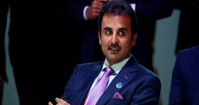 أمير قطر يعزي العاهل السعودي الملك سلمان image