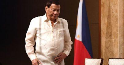 """رئيس الفلبين للشرطة: """"اقتلوا مخالفي العزل رميا بالرصاص"""" image"""
