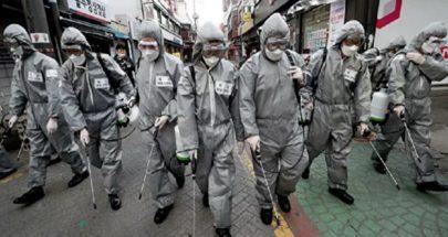 ارتفاع عدد المصابين بكورونا في كوريا الجنوبية إلى أكثر من عشرة آلاف image