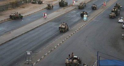 انتشار عسكري في الخرطوم في الذكرى الأولى للاعتصام الشعبي ضد البشير image