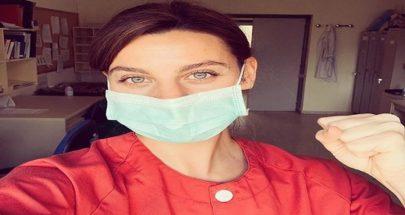 الممثلة التي قررت أن تُصبح ممرضة لمواجهة فيروس كورونا image
