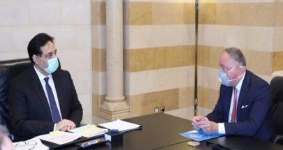 دياب: لبنان لا يقبل بالسكوت عن الانتهاكات الإسرائيلية المتكررة image