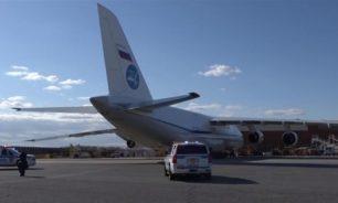 طائرة عسكرية روسية تصل نيويورك محمّلة بالمساعدات الإنسانية image