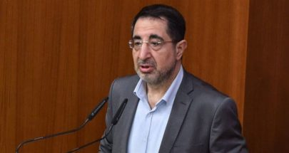 الحاج حسن اسف لعدم اقرار قانون العفو image