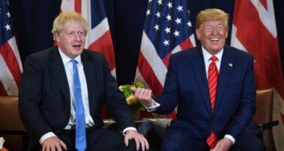 بريطانيا ترفض عرض ترامب بتقديم المساعدة في علاج جونسون image