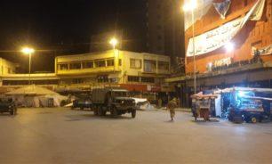 الجيش يعمل على اعادة فتح الطريق عند ساحة النور في طرابلس image