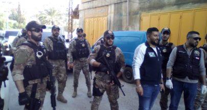 قوة من مخابرات الجيش فضت تجمعات في البداوي image