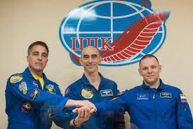 انطلاق 3 رواد إلى محطة الفضاء الدولية على رغم تفشي كورونا image