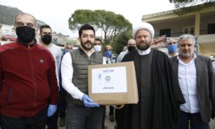 كهرباء جبيل واصلت توزيع حصص غذائية في قرى وبلدات القضاء image