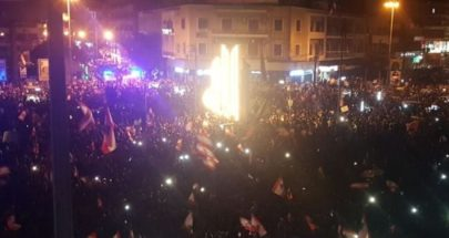 مظاهرات تجوب شوارع طرابلس بسبب الاوضاع المعيشية الصعبة image