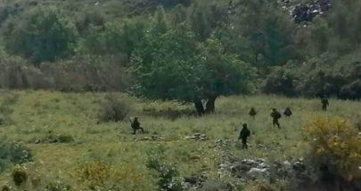 قوة مشاة إسرائيلية تتخطى السياج التقني عند الجانب الشرقي لنهر الوزاني image
