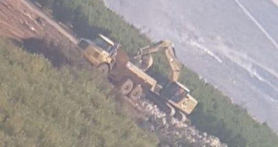 الجيش الاسرائيلي استأنف الحفريات قبالة متنزهات الوزاني image