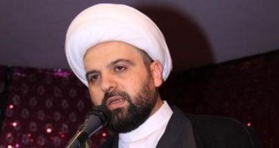 أحمد قبلان: لتوحيد الجهود لإنقاذ البلد لا إشعال متاريسه المذهبية والطائفية image