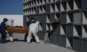 تحضير فريق متطوع في القبيات مهمته دفن موتى الفيروس image