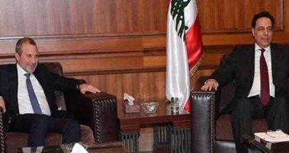 تراجع دياب انتصار لباسيل... رئيس حكومة سابق: رئيس التيار استعان بسلاح ثقيل image
