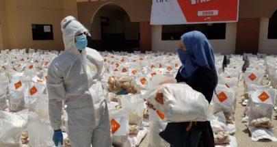 اتحاد الجمعيات الإغاثية في لبنان وزع مساعدات في الجومة image