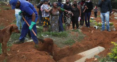 أكثر من 25 ألف وفاة بكورونا في البرازيل image