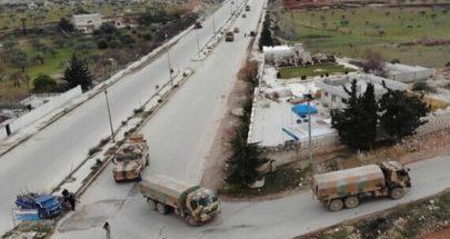 انفجار قنبلة على طريق إم 4 السريع في إدلب لدى مرور قافلة تركية image
