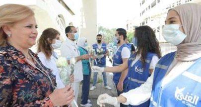سفارة الإمارات وزّعت مئة حصة غذائية في مستشفى الحريري image