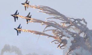 الدفاع الروسية: إقلاع طائرتين لاعتراض قاذفات أميركية فوق البحر الأسود image