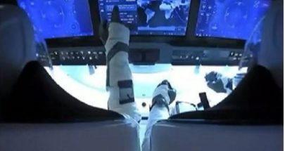 """بالفيديو ..إقلاع تاريخي للصاروخ """"سبايس إكس"""" وعلى متنه رائدا فضاء image"""