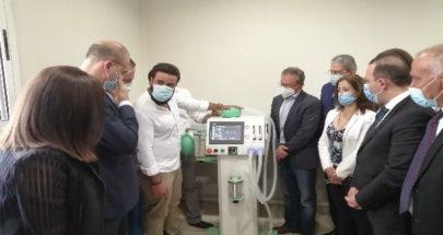 جهازان طبيان لمستشفى الهراوي من تنفيذ طلاب كلية العلوم في اللبنانية image