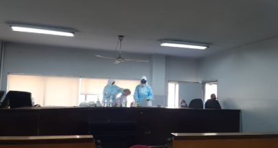 فحوص PCR في قصر عدل زحلة ومختلف المستشفيات الحكومية image