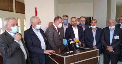 وزير الصناعة يتابع جولته في بعلبك الهرمل image