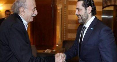 المعنى السياسي لموقف الحريري وجنبلاط image