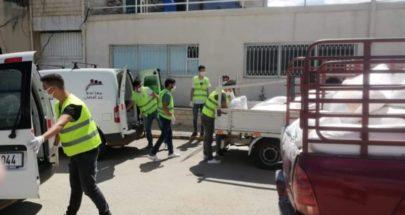 مؤسسة عبد الرحيم مراد دعمت الفرن الخيري في راشيا ب 3 اطنان طحين image
