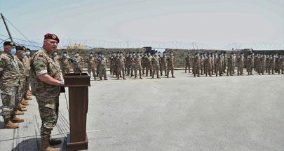 قائد الجيش: الأوضاع الراهنة لن تثنينا عن مواجهة العدوين الإسرائيلي والإرهابي image