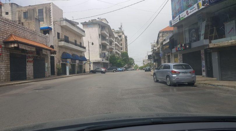 طرقات لبنان يوم الاحد بالرغم من السماح بالتجول image