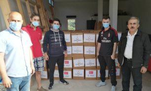 مساعدات تركية لعائلات في بلدتي عيدمون والكواشرة image