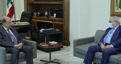 الرئيس عون تابع اجراءات مكافحة كورونا وحالة التعبئة العامة image