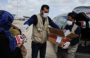 مساعدات بريطانية تساهم في التصدي لفيروس كورونا في الشرق الأوسط image