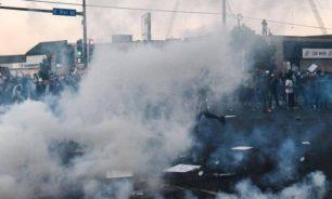 إصابة صحفيين خلال تغطية التظاهرات ضد العنصرية بأميركا image
