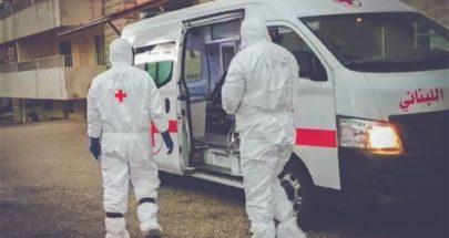 """الصليب الاحمر نقل 145 حالة مشتبه بإصابتها بـ""""كورونا"""" image"""