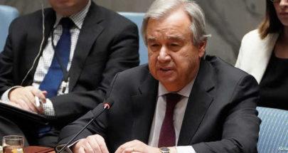 غوتيريش يطالب بوقف فوري لإطلاق النار في أفغانستان... image