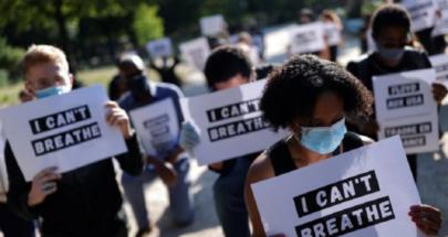 احتجاج أمام السفارة الأميركية لدى باريس تضامنا مع فلويد ومناهضة للعنصرية image