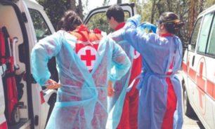 كورونا يتمدّد...الصليب الأحمر ينقل 50 إصابة image