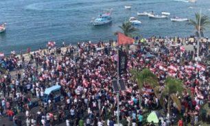 لقاء في ساحة العلم في صور: ثورة 17 تشرين بين أصالة الثورة والثورة المضادة image