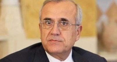 سليمان: تحييد لبنان ومعالجة السلاح أهم من شكل الحكومة ومسمياتها image