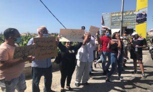 اعتصام لناشطي الحراك في صور رفضا للجوع والفقر image