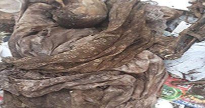 بالصورة: قوى أمنية ومباحث جنائية... جثة متحللة في الدكوانة! image