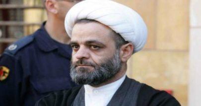 الشيخ عباس زغيب: التعرض للرموز الدينية امر مدان ومرفوض image