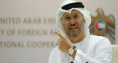 قرقاش: لا يمكن أن يكون عالمنا العربي مشاعا للتدخل الإقليمي دون عقاب image