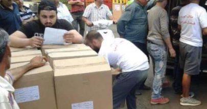 توزيع مساعدات غذائية في طرابلس في ذكرى استشهاد كرامي image