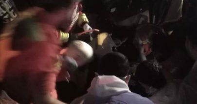 ستة جرحى في حادث سير في بخعون ـ الضنية image