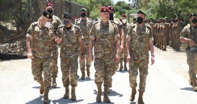 قائد الجيش تفقد الوحدات المنتشرة في منطقة الجنوب image